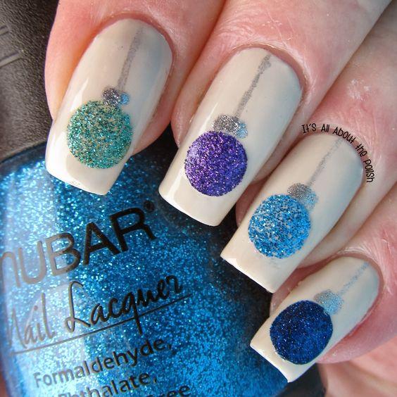 Christmas Nail Art Designs, Christmas Gel Nails, Winter nail art, Holiday nail art, Winter nail art ideas, nail art, Makeup