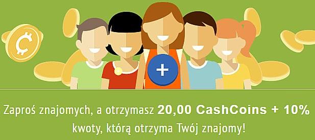 CashBackRabat, program partnerski, polecający.
