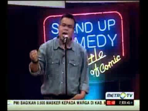 cara daftar stand up comedy metro tv
