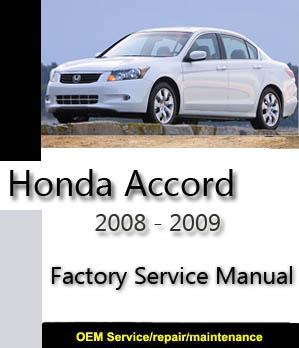 Honda Factory Service Repair Manuals