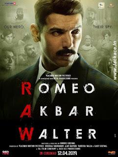 Romeo Akbar Walter First Look Poster 2