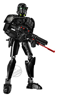 LEGO Star Wars Rogue One Buildable Figure Imperial Death Trooper