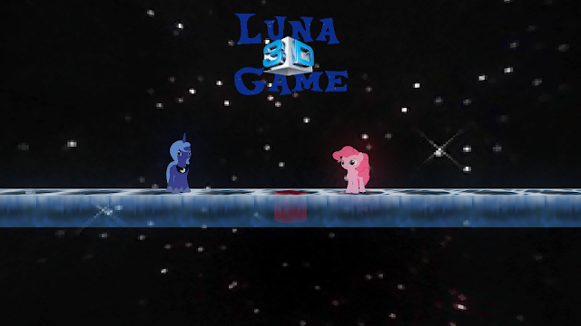 Luna Game 3D Title Screen