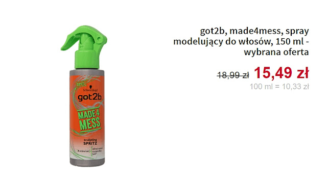 got2b - Spray do włosów
