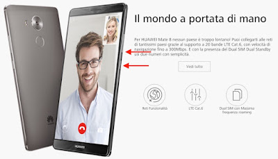 come salvare screenshot huawei mate 8