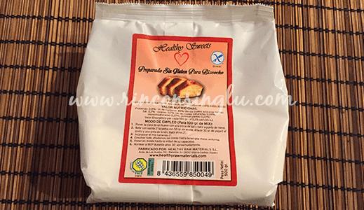 preparado para bizcocho sin gluten healthy raw