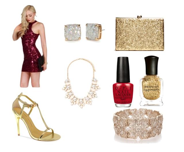 Holiday sparkle dress
