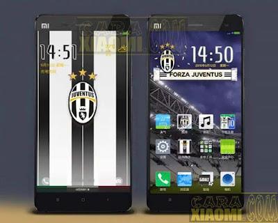 Kumpulan Tema MIUI Football Themes Mtz For Xiaomi Juventus FC