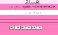 http://calasanz.edu.gva.es/7_ejercicios/matematicas/mate3pri/2_05numeracion.html