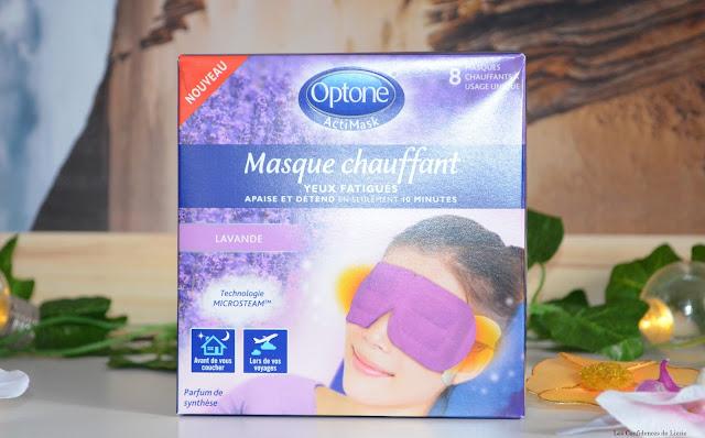 relaxation - relax - bien être - lavande - soin - cosmétique - masque - masque chauffant