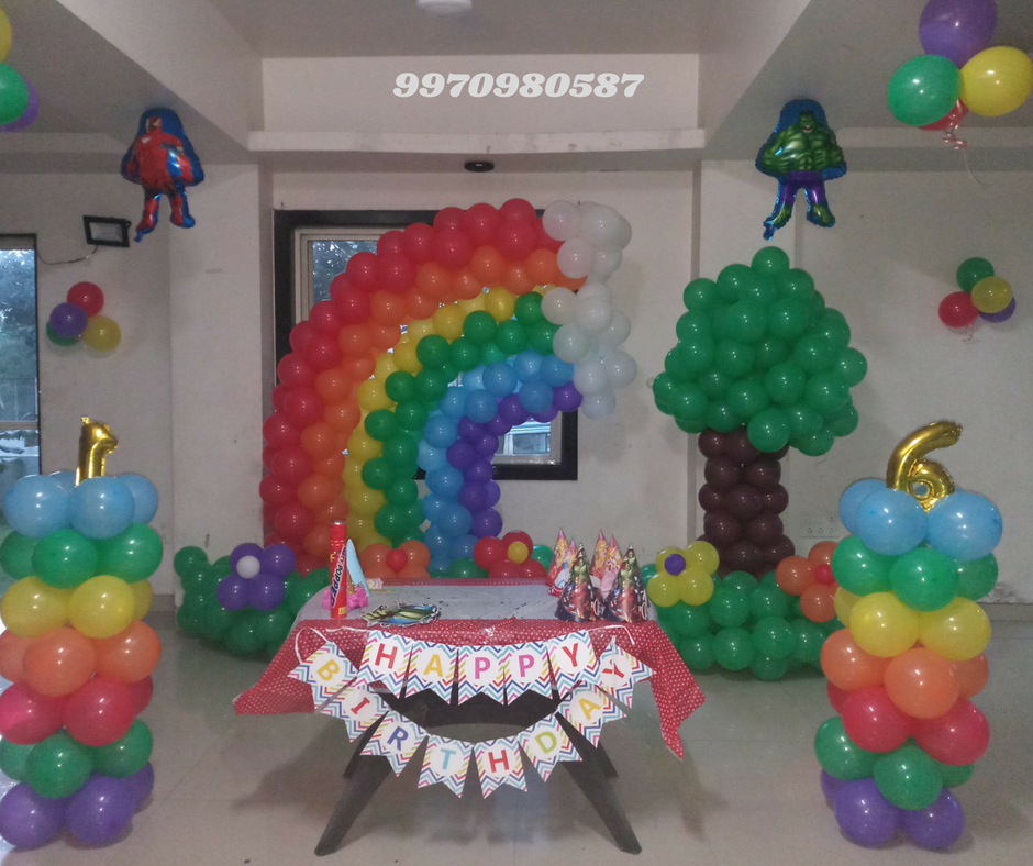 Best Birthday Party Planner   Birthday Decorator balloon decoration for birthday at home