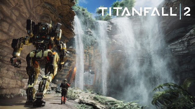 PC Console With Titanfall 2