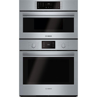 Bosch Wall Microwave and Wall Oven