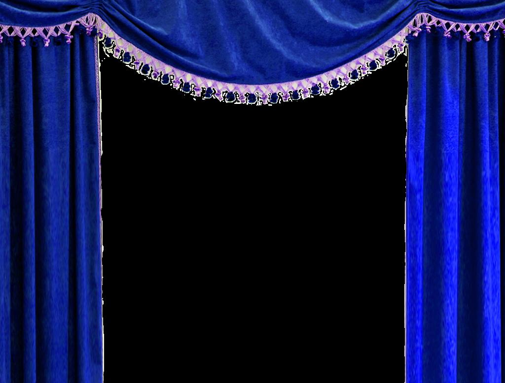 Mensagens e gifs da teka cortinas digitais com fundo for Blue theatre curtains png