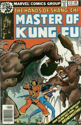 Shang-Chi, Master of Kung Fu #73