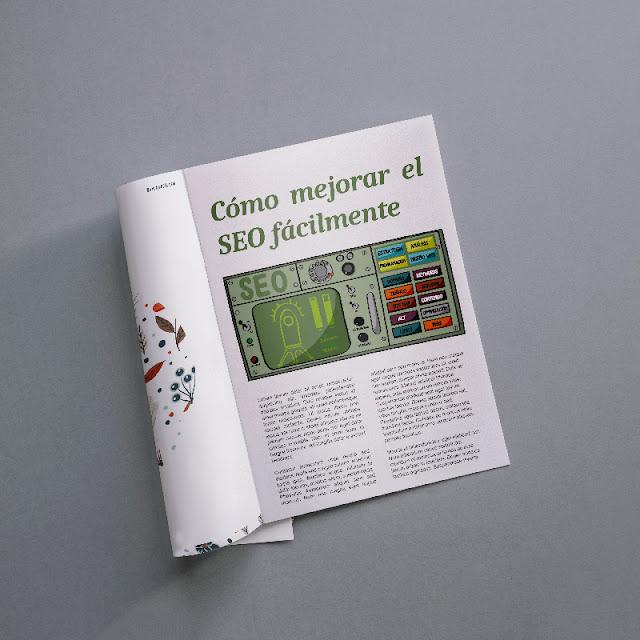 Il·lustració editorial per SEO