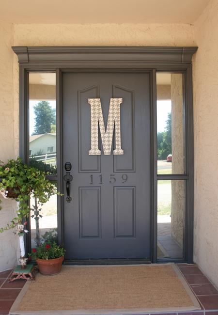 Front door paint color