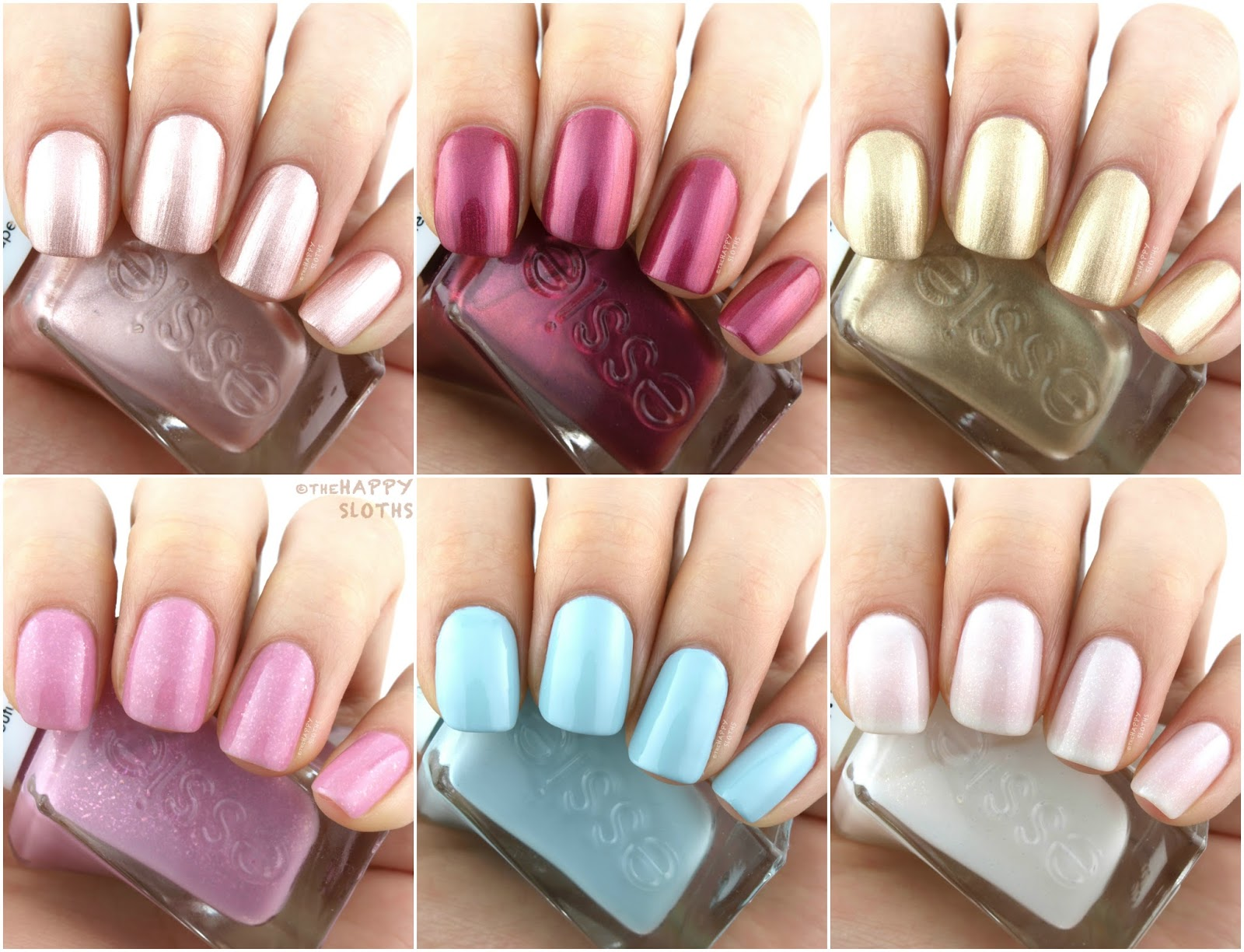 Essie | Gel Couture Reem Acra Wedding Collection: Review and ...