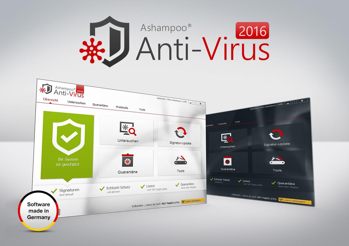 Ashampoo anti virus 2016 im test lilawolke testet
