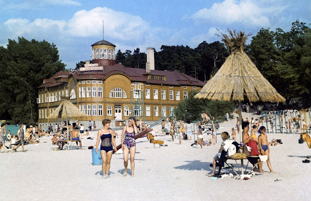 "1971 год. Юрмала. Майори. Курортная поликлиника ""Rīgas Jūrmala"" (автор фото: Ян Тихонов)"