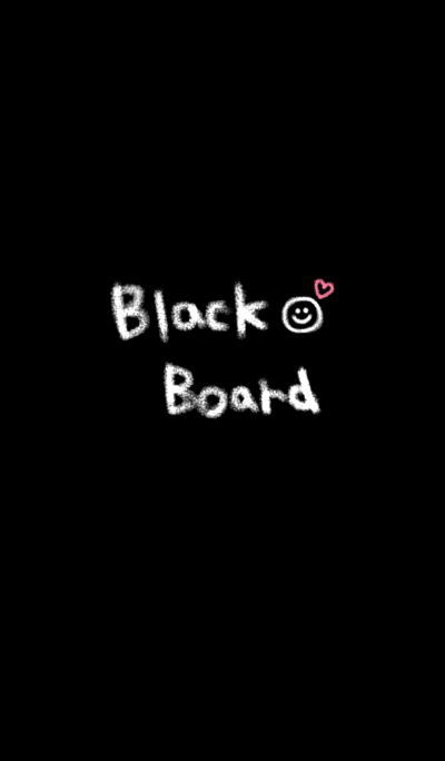 black board theme