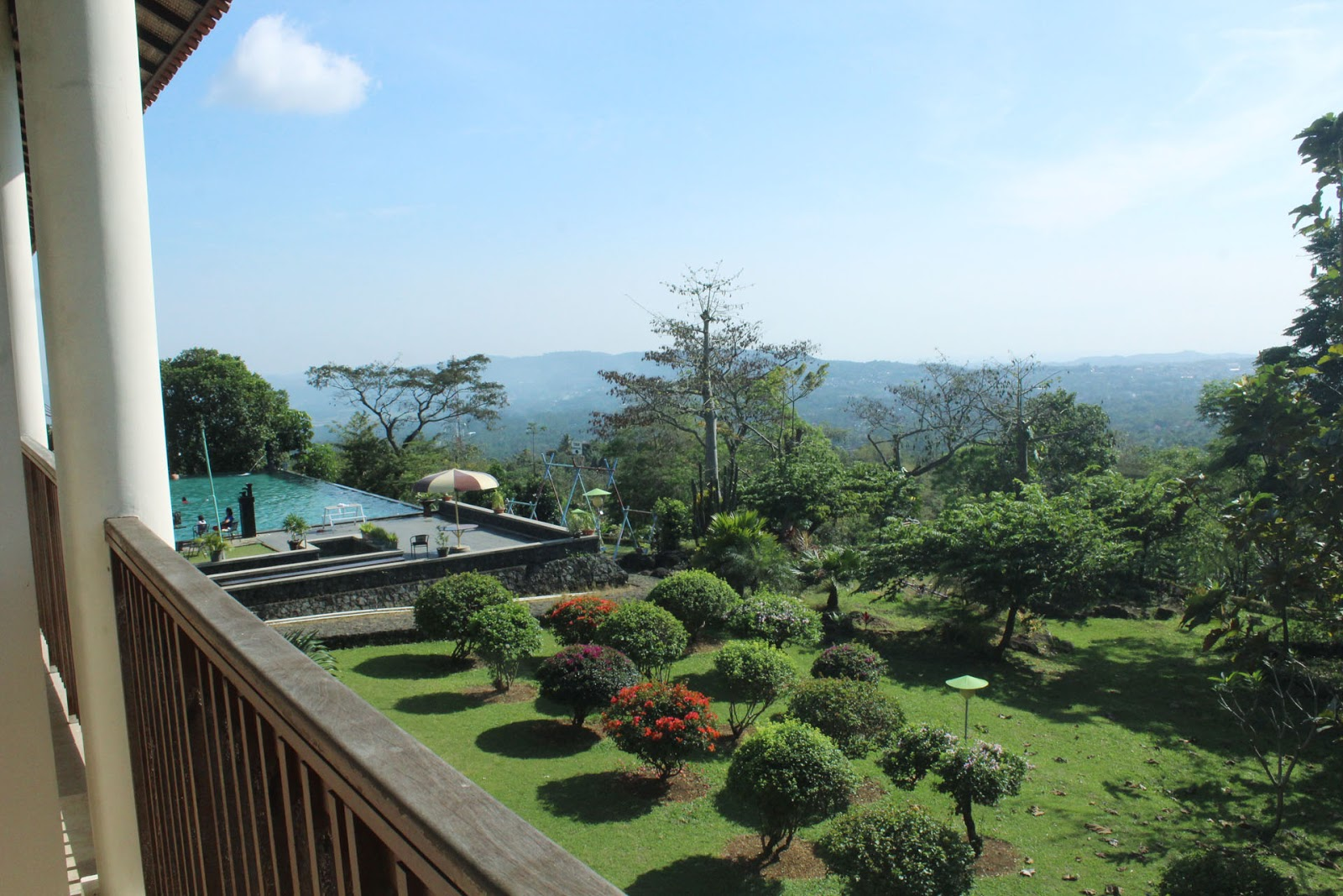 Pemandangan dari Hotel Agrowisata Salatiga