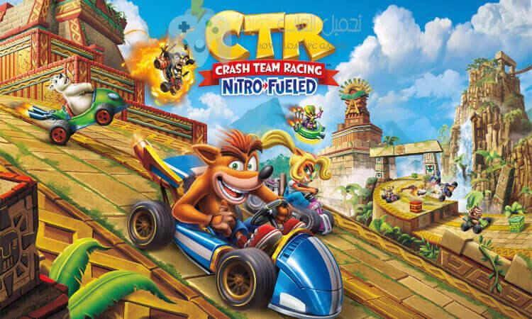 تحميل لعبة كراش Crash Team Racing للكمبيوتر مجانا من ميديا فاير