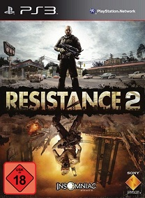 Resistance 2 PS3-DUPLEX