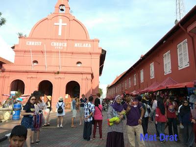 Bercuti Tempat Menarik Melaka Stadhuys