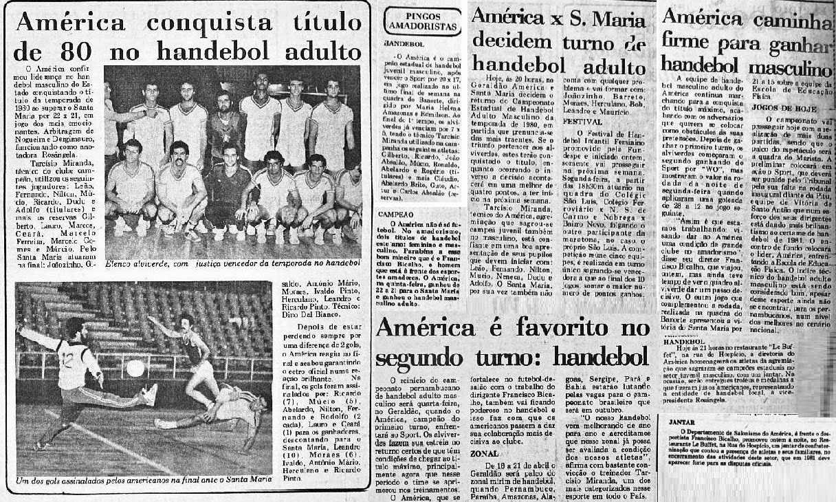 A volta do Handebol no América