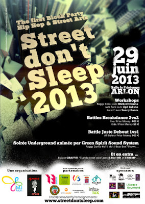 Street don't Sleep! Arlon