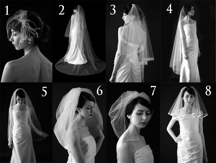 Wearing It Today: WIT Wedding Wednesday: Veil or no veil?