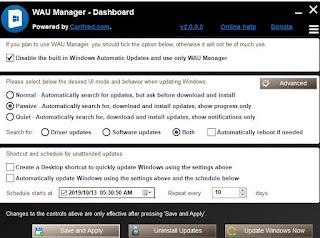 WAU Manager
