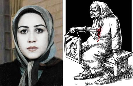 من عذابات أمهات شهداء مجاهدي خلق الايرانية رسالة من السجينة السياسية المقاومة السيدة مريم أكبري منفرد من سجن ايفين
