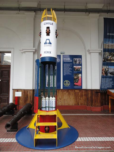 Cápsula Fênix - Museu Naval y Marítimo de Valparaíso