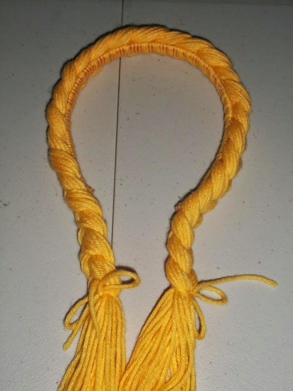 continue braid around headband