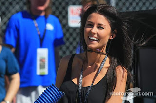 Indycar Long Beach Kristen Dee Girlfriend Of James Hinchcliffe Andretti Autosport Hon