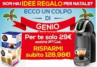 Logo Idee regalo? risparmia oltre 100 euro per macchina Nescafè Genio