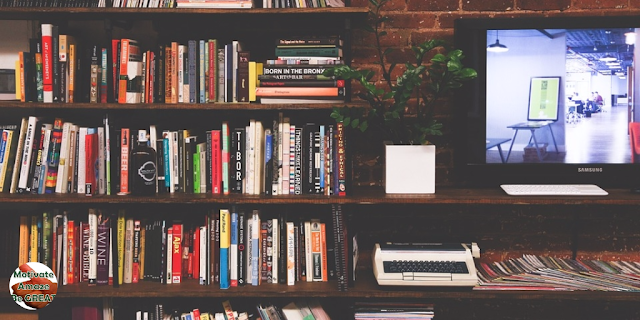 "Featured in the article: ""26 Lifelong Learning Skills You Need To Be Successful"" . Represents a personal library of books and data to become a lifelong learner."