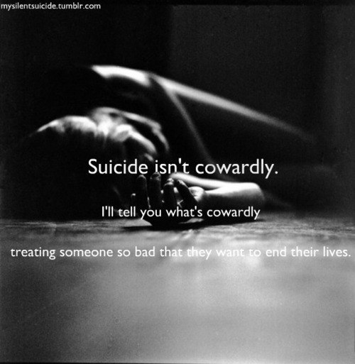 Poetic.indlugence: Contemplating Suicide: Don't Do It