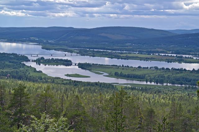 Tornionjoki, aavasaksa, övertorneå, silta