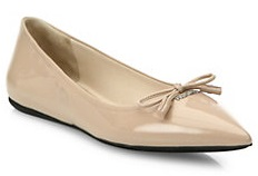 Patent Leather Skimmer Flats