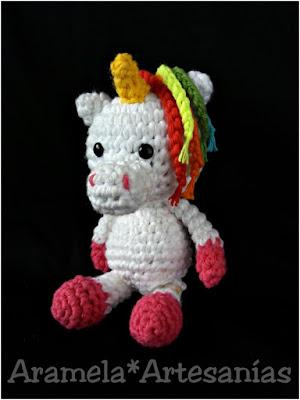 patron unicornio amigurumi mini 1