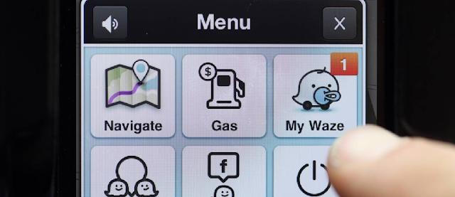 App Waze em Miami