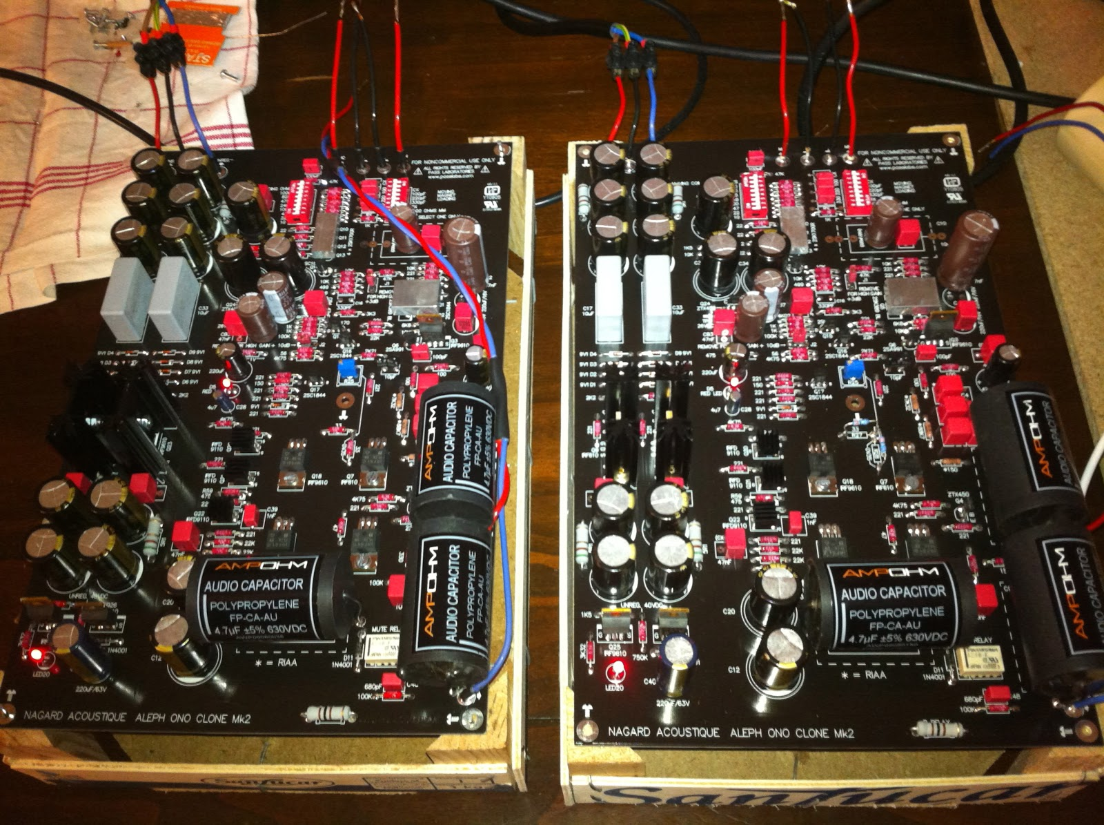 Pass Labs Diy Projects Alephx 100w Amplifier Construction Notes At