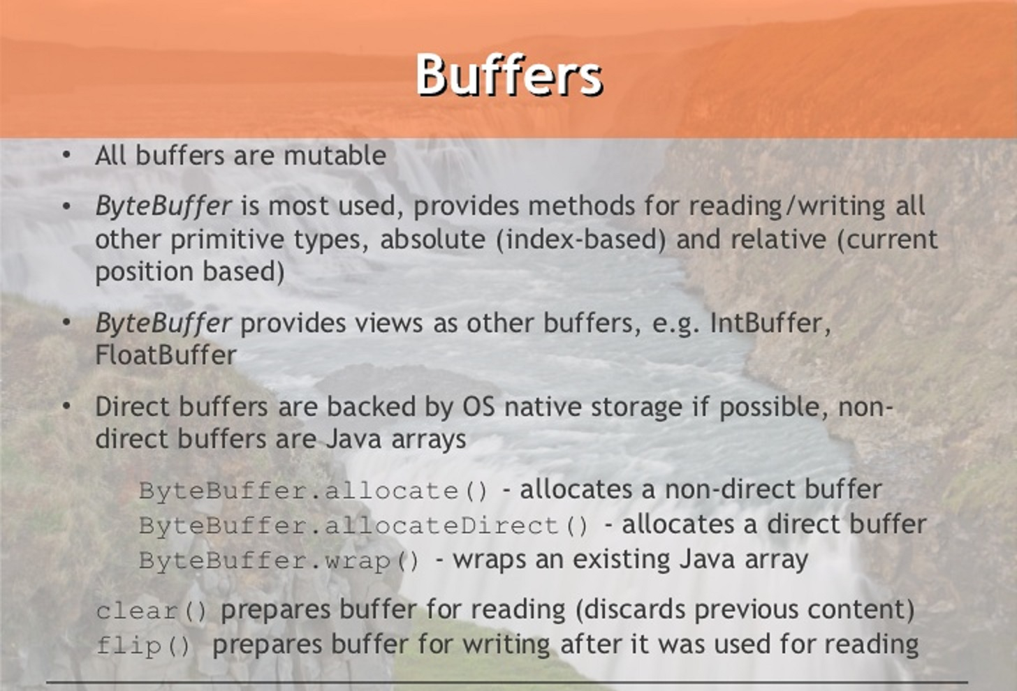 How to convert ByteBuffer to String in Java | Java67