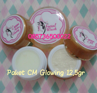 Cream CM GLOWING 12.5gr Lebih MURAH