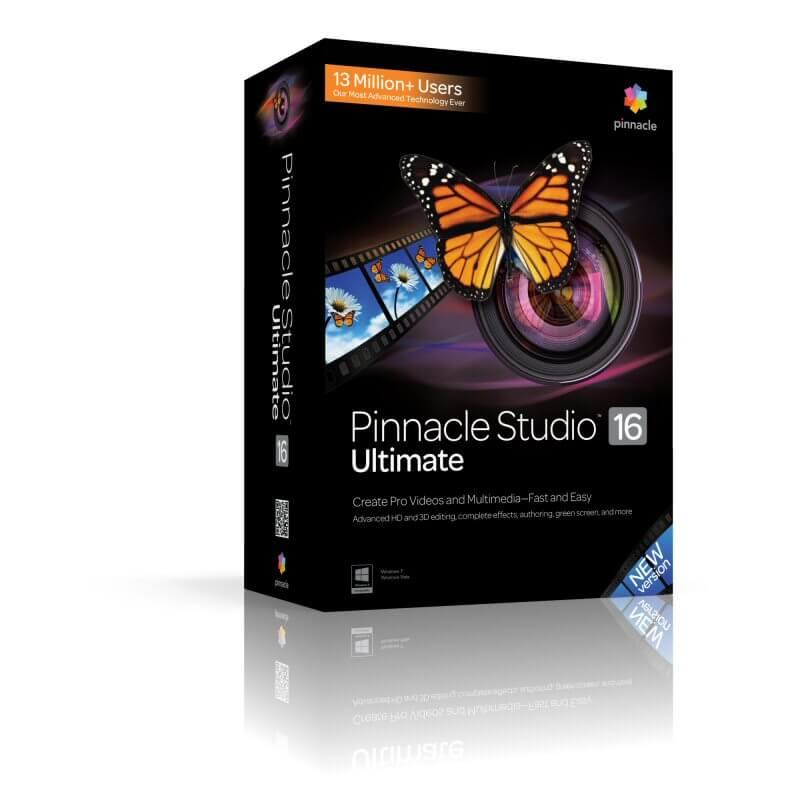 برنامج Pinnacle Studio 16 الذي ينافس أضخم برامج المنتاج وتحسين الفيديو وسهل الاستعمال