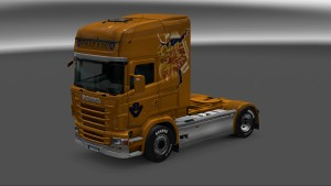 Golden Griffin Skin for Scania RJL