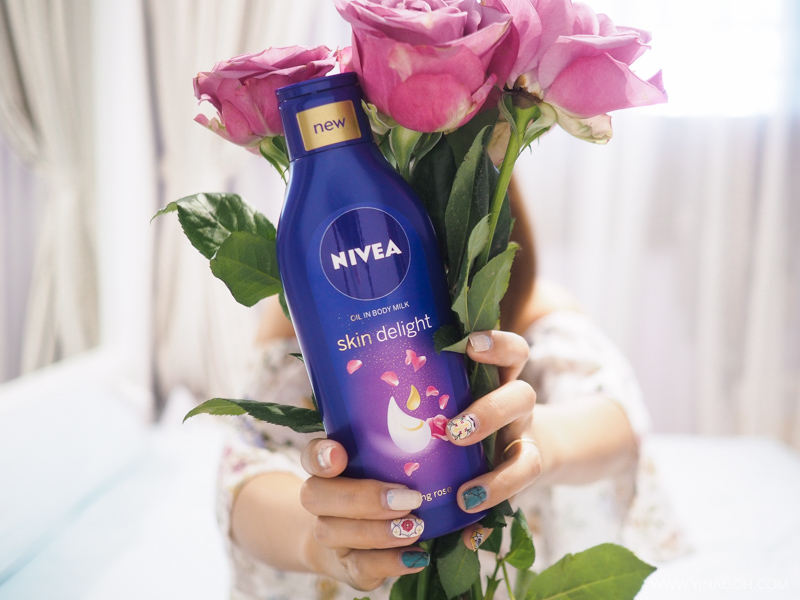 NIVEA Skin Delight Oil in Body Milk